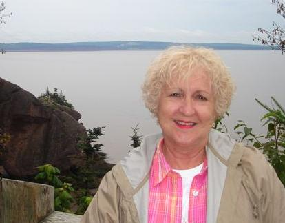 Mary at Hopewell Rocks