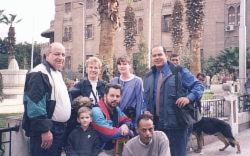 Mark and Family in Egypt